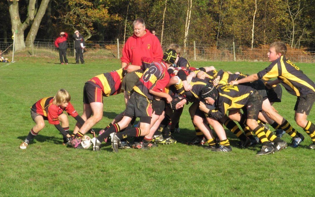 Cinderford Under 13's 19 Droitwich Under 13's 50