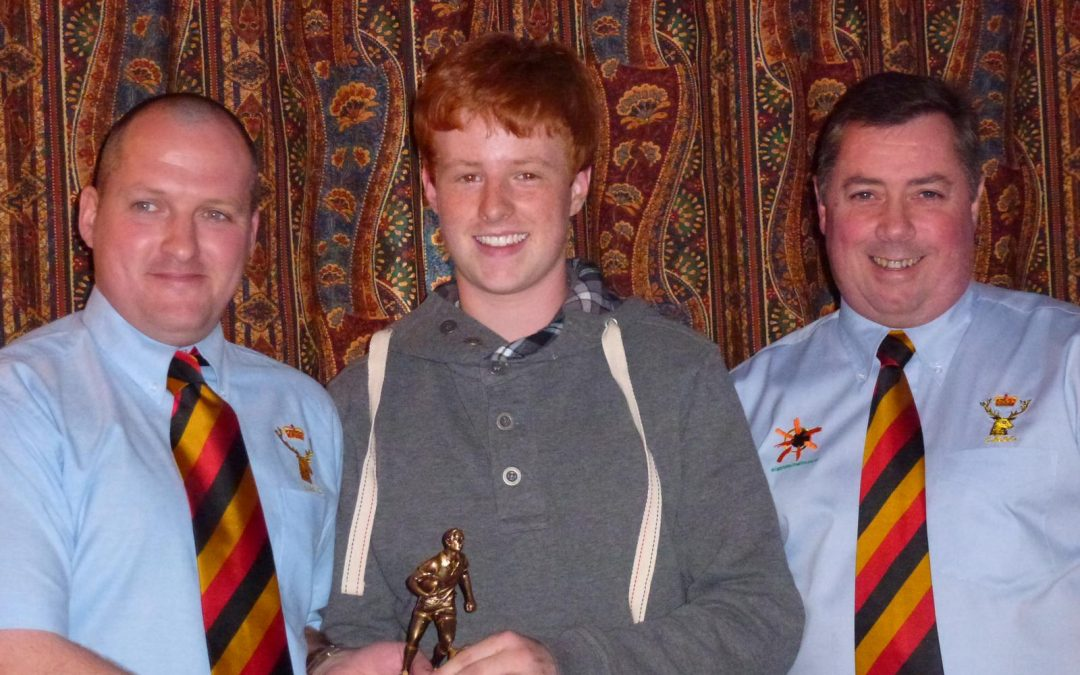 Cinderford U14s / U15s awards night