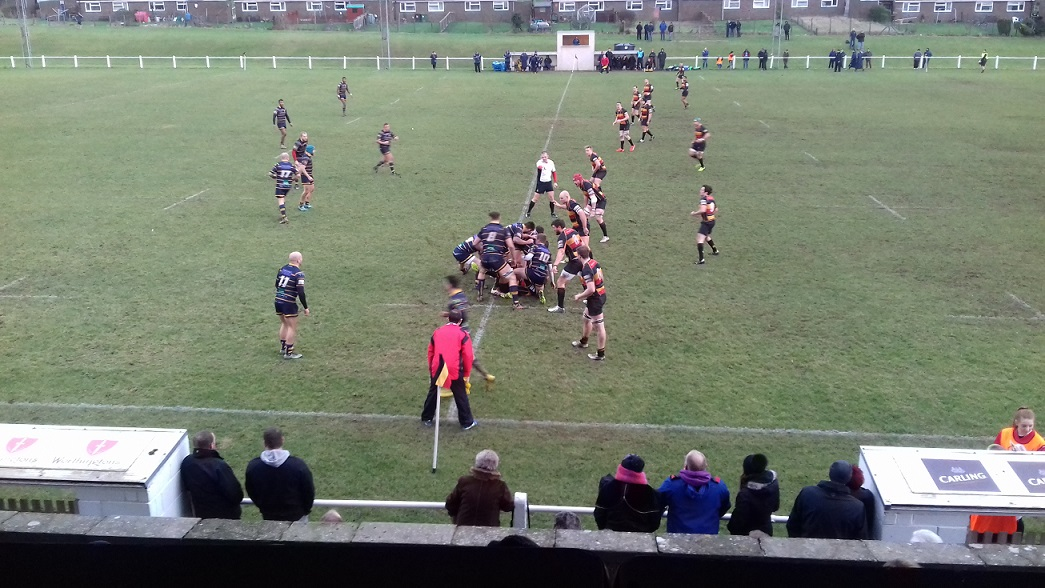 Cinderford 53-18 Worthing Raiders