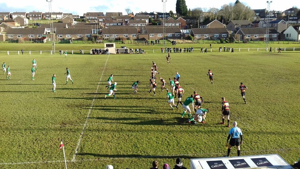 Cinderford 43-0 London Irish Wild Geese