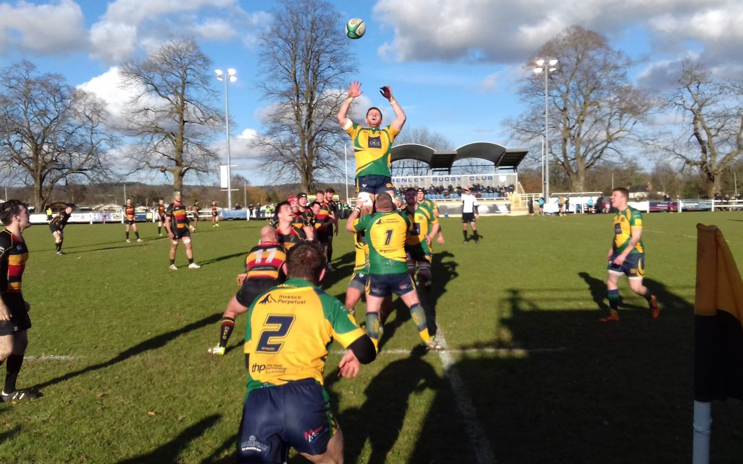 Henley Hawks 17-20 Cinderford