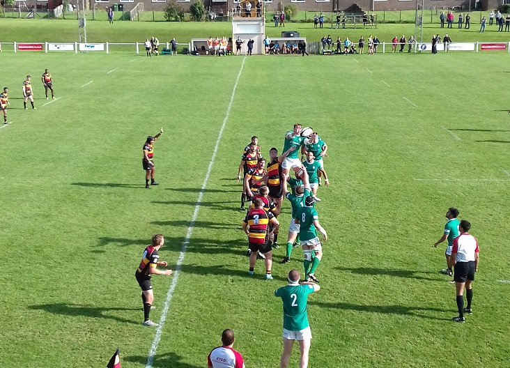 Cinderford 29-21 London Irish Wild Geese