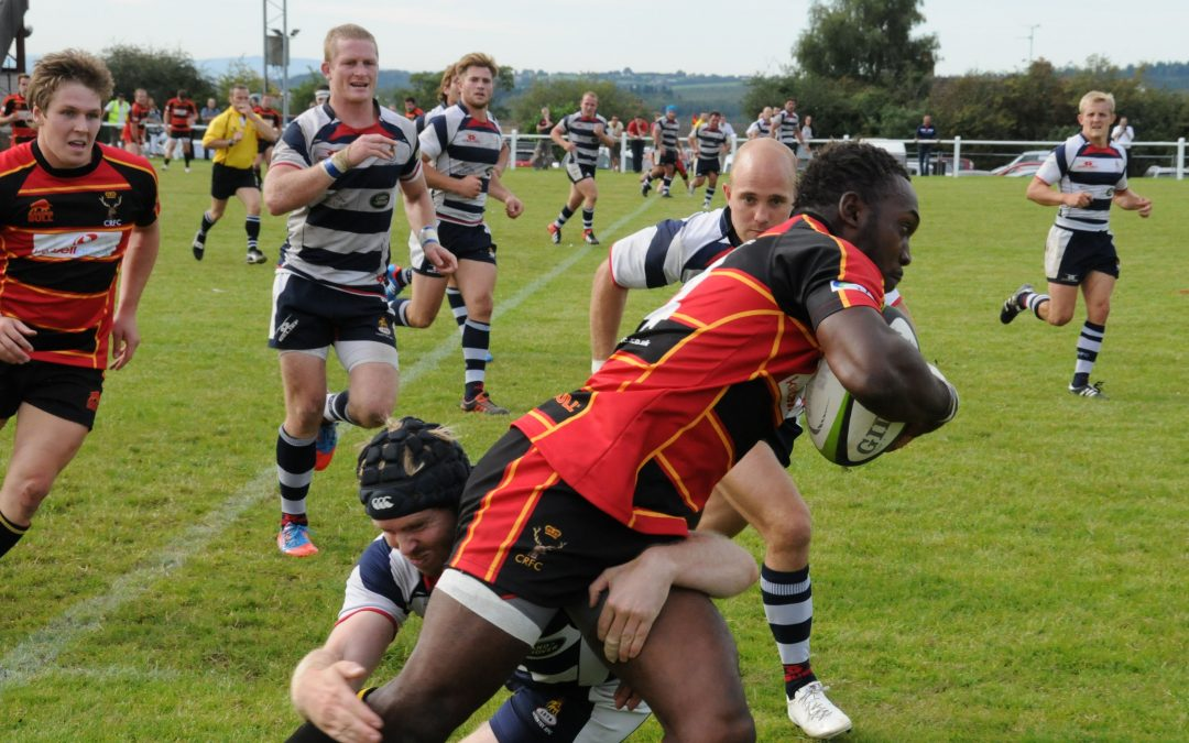 Cinderford 36-31 Coventry