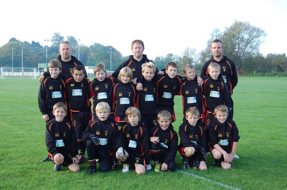 Cinderford Under 10's v Spartans