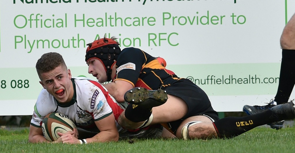 Plymouth Albion 27-15 Cinderford