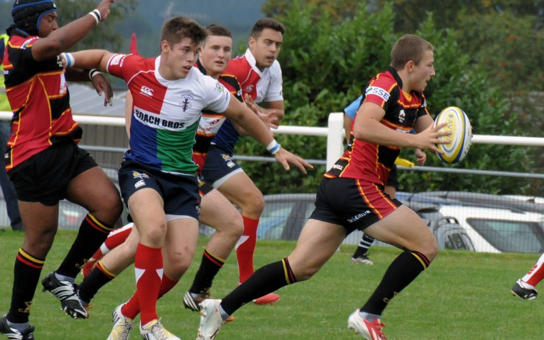 Glos players and Cherry and Whites Deal
