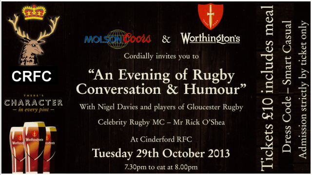 Q&A Session with Gloucester Players and Nigel Davies