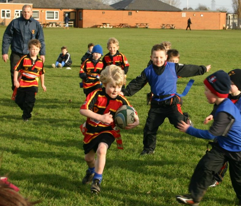 Cinderford Under 7's the perfect way to start