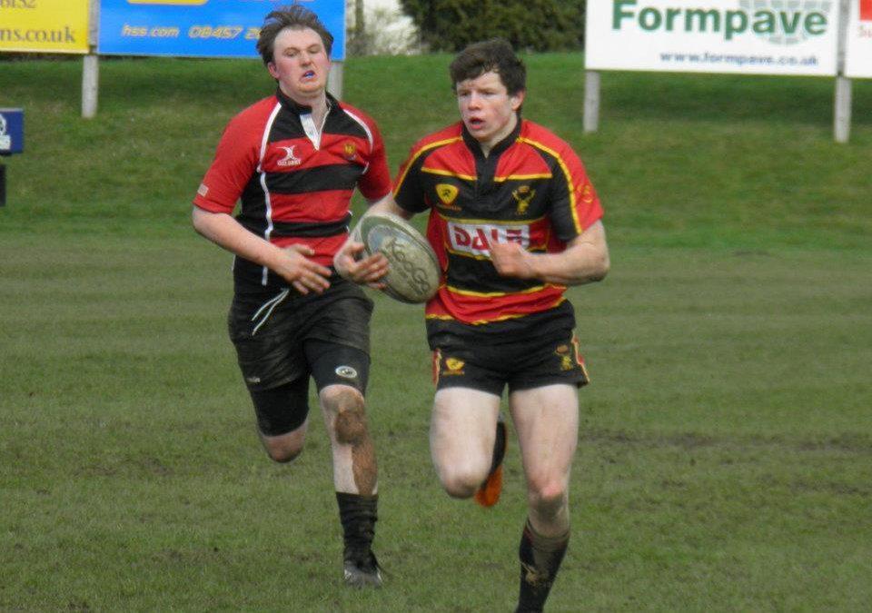 Cinderford U16s 5 – Longlevens U16s 37