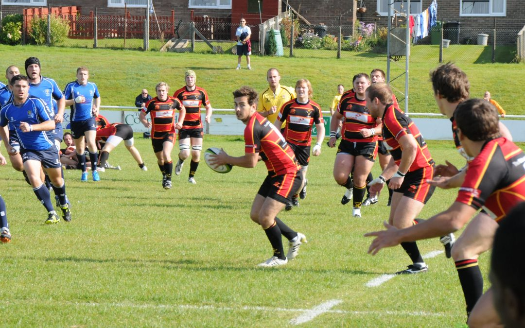 Cinderford 38 Macclesfield 19