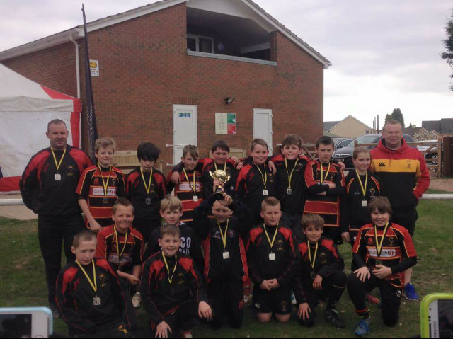 Cinderford Under 11's runners up