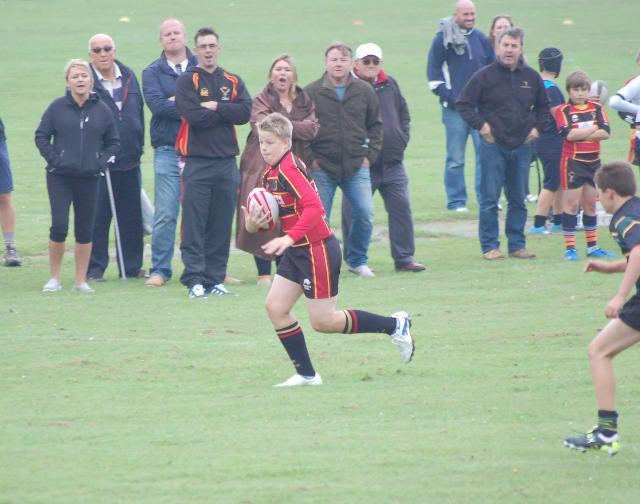 Cinderford Under 13's 12 – 0 Dings Crusaders