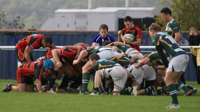 Cinderford Stags 13-5 Dings Crusaders