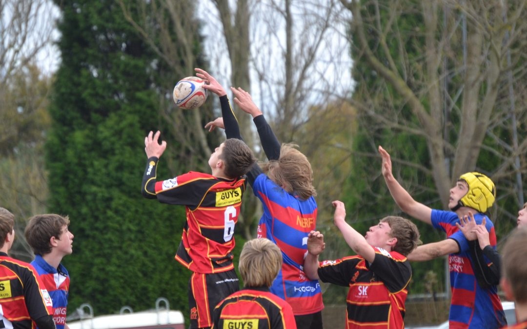 Cinderford U 14's V North Bristol U 14's