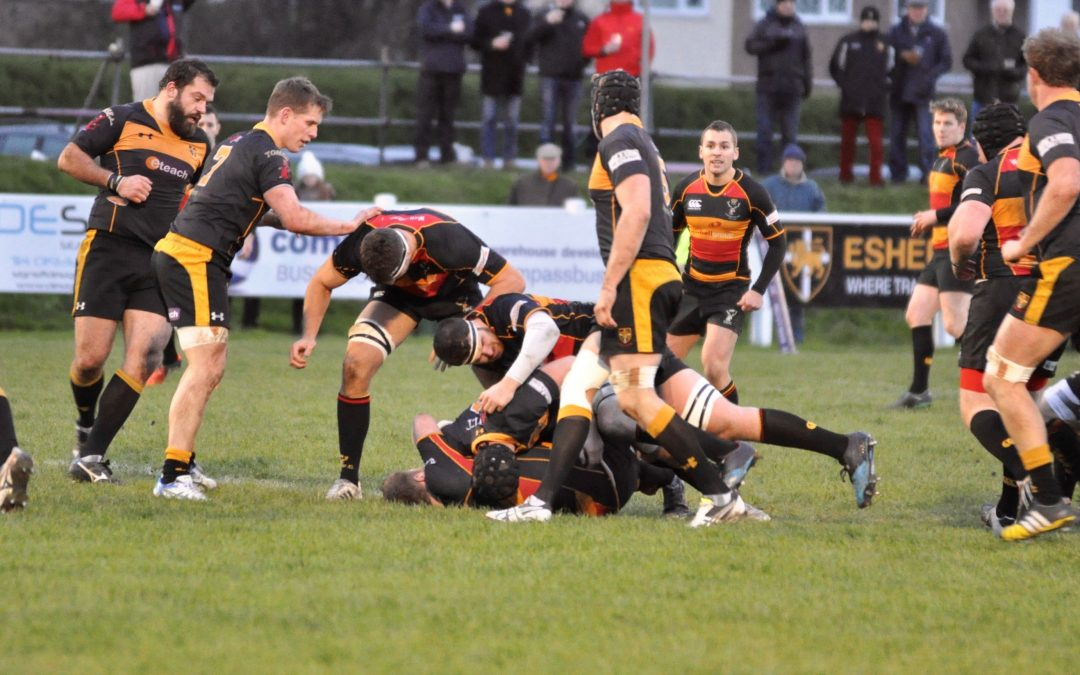 Cinderford 22-34 Plymouth Albion