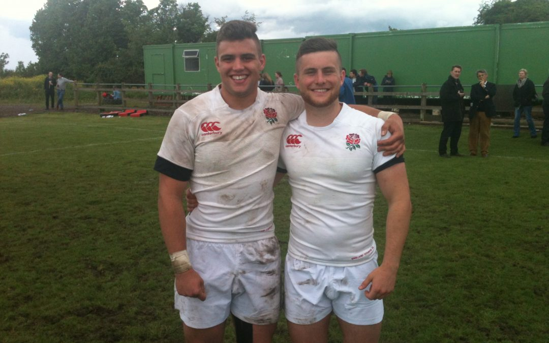 Hanks and Sinclair represent England Counties