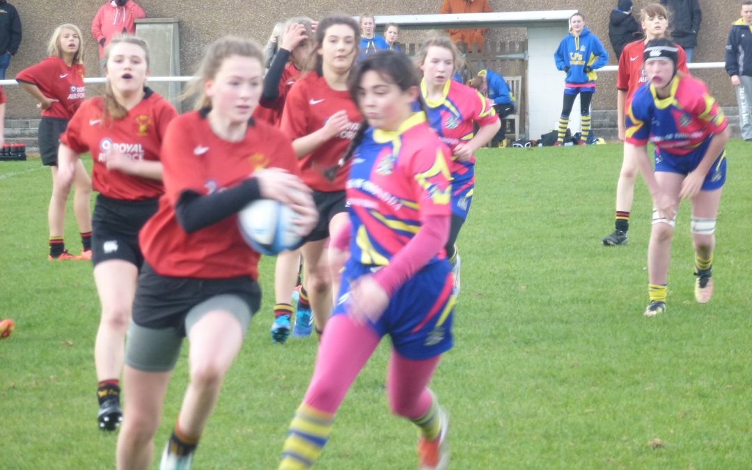 Cinderford U15 and 18's Girls