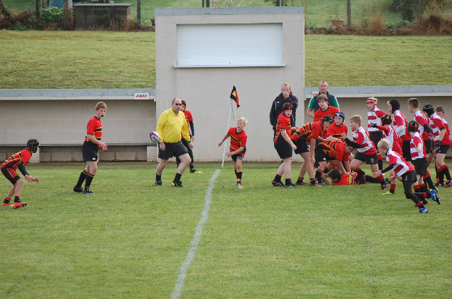 Cinderford Under 13's 10 – 30 Henley Hawks Under 13's