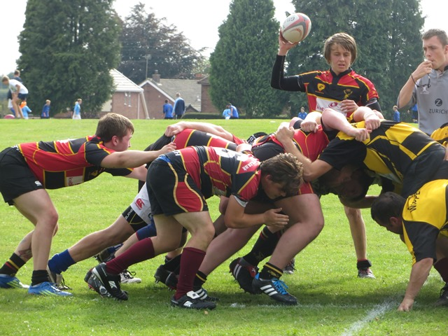 Berry Hill 3rds 0-19 Cinderford Bucks