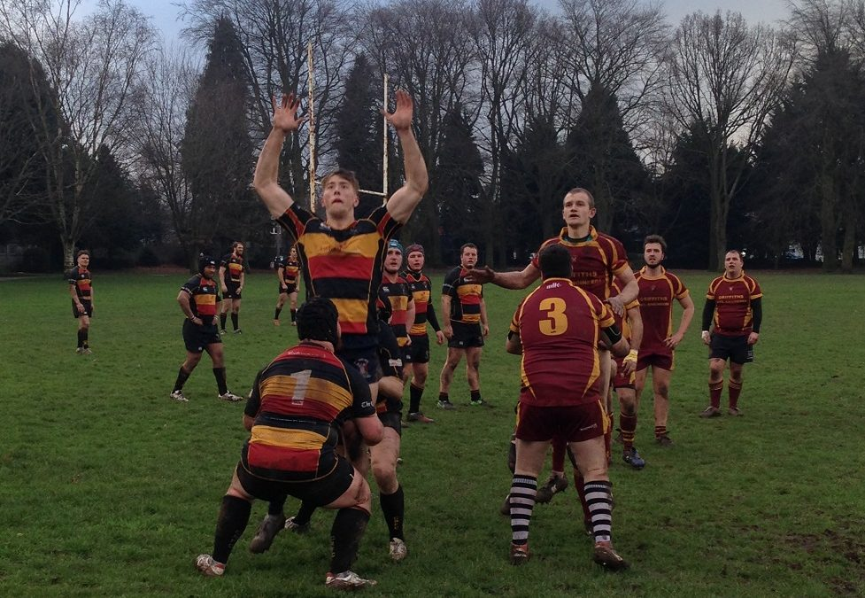 Newent 2nd XV 3-51 Cinderford Stags