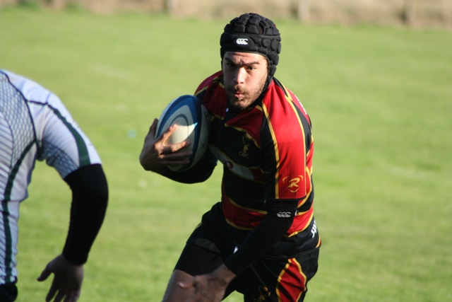 Stags defeat Drybrook in tight cup affair