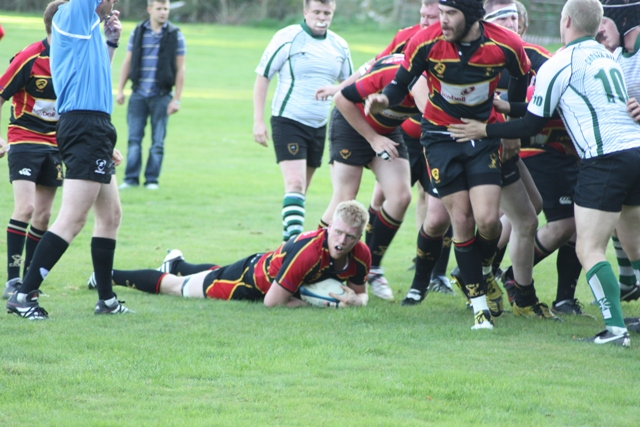 Cinderford Stags 41-0 Clifton 2nds