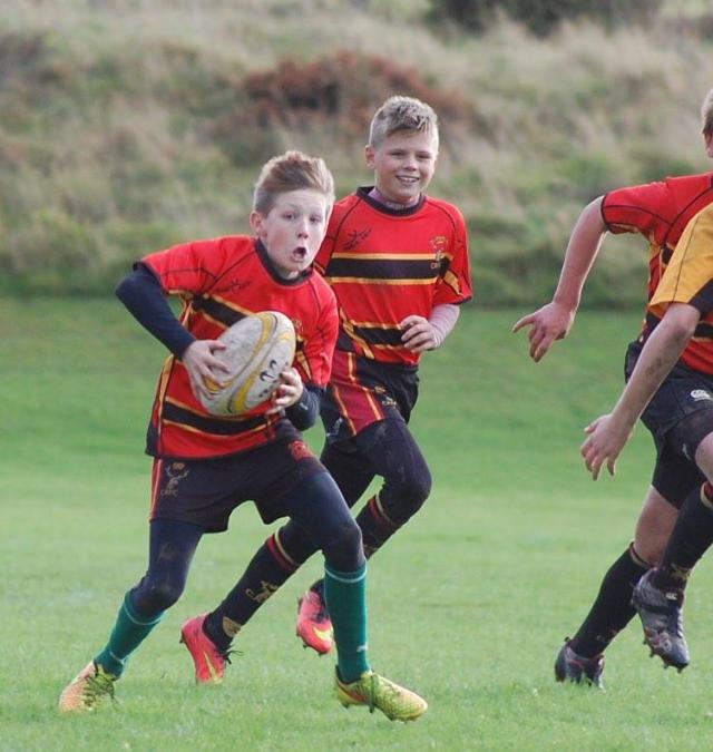 Cinderford Under 13's 31 – 0 Keynsham Under 13's