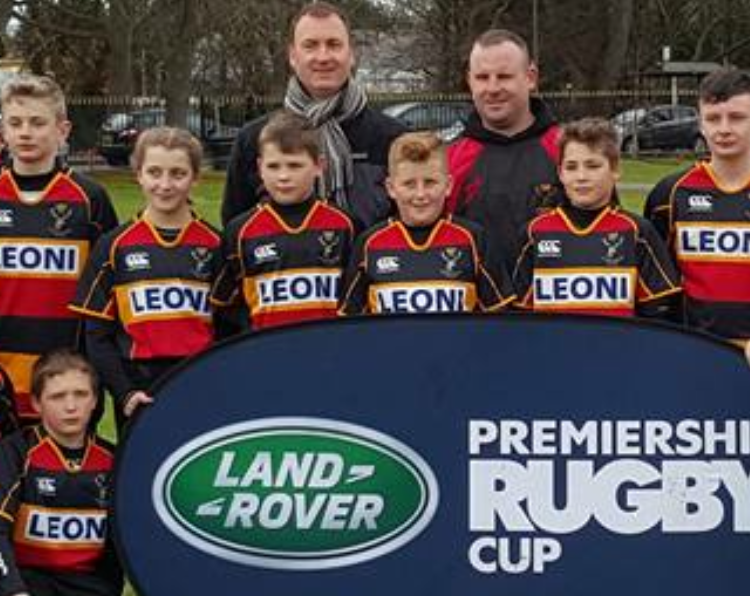 Cinderdord Under 12's in Land Rover Cup action