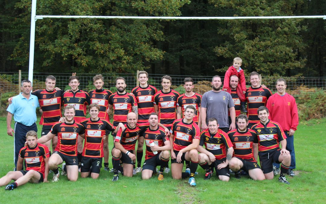 Whitehall 'A' 24-65 Cinderford Stags