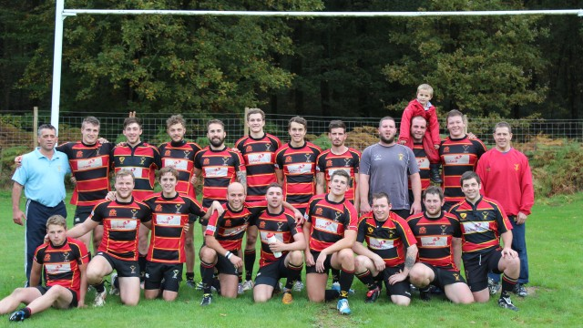 Newent 2nd's 14-26 Cinderford Stags