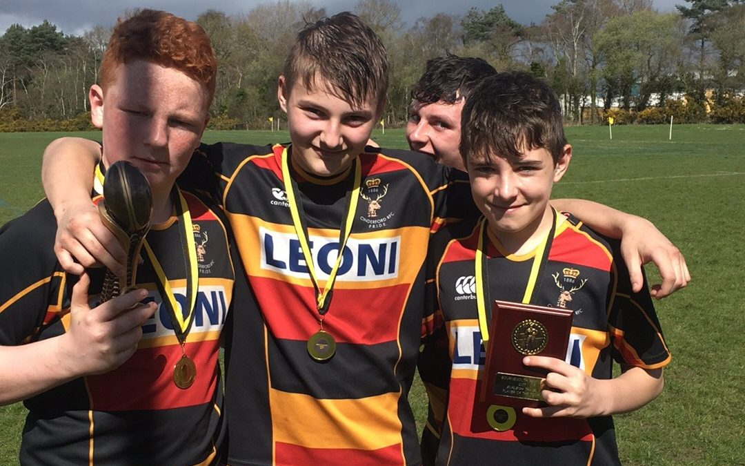 Cinderford u13s win Bournemouth festival