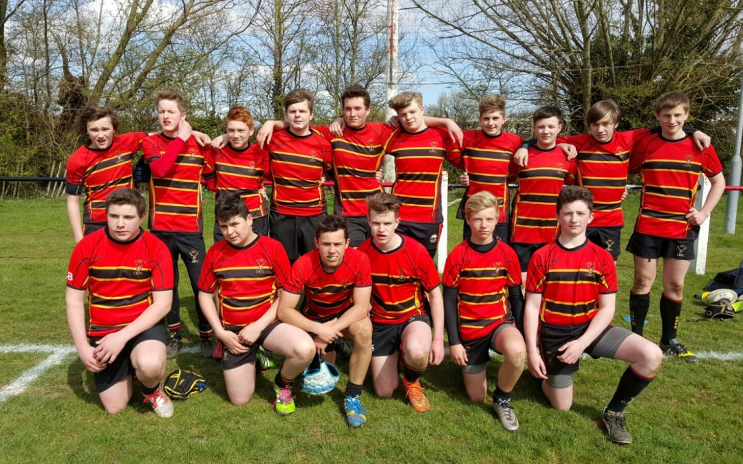 Cinderford u14s 82-12 Cheltenham North