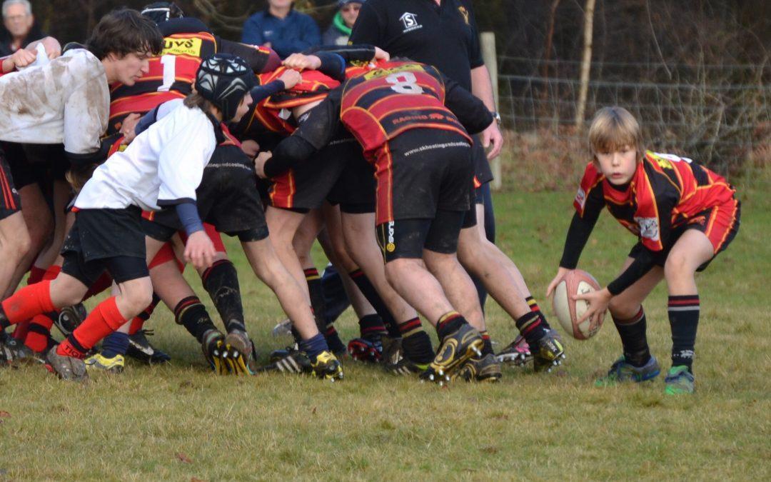 Cinderford U14s v Thornbury (County Cup Quarter Final)