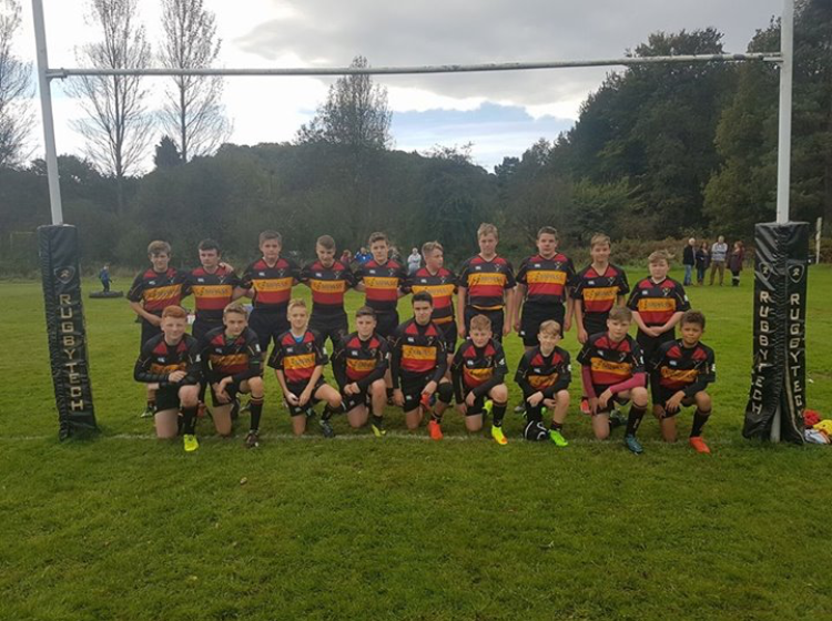 Cinderford U-14's ring the changes