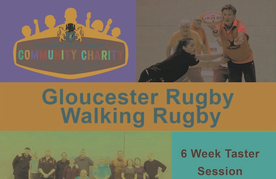 Give walking rugby at go at Cinderford