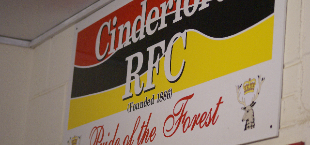 Rugby at Cinderford this weekend