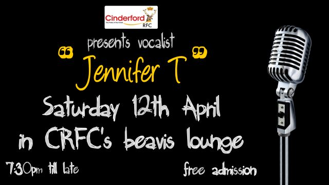 Jennifer T Live at Cinderford