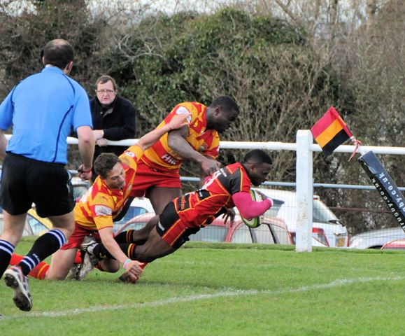 Cinderford Travel to Wales to play Llandovery RFC