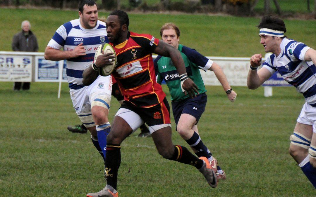 Henley Hawks 5-12 Cinderford