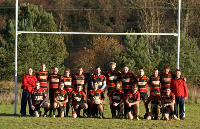 Cinderford Stags Square Up To Dings Knights
