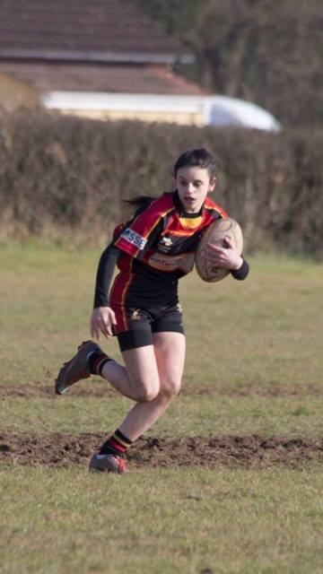 U18 Elle Makes Hartpury AASE Squad.