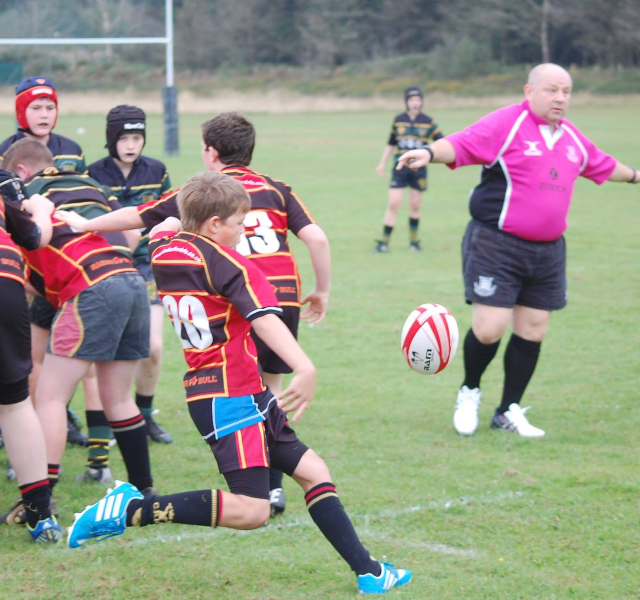 Cinderford Under 13's 25-5 Old Pats