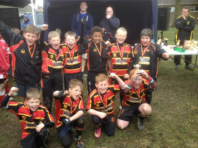 Crfc under 9's win Berry hill festival