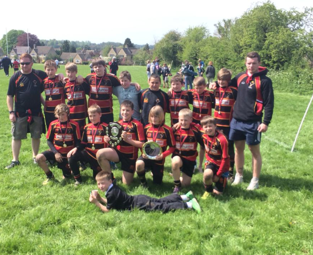 Cinderford under12s win Cirencester 7s