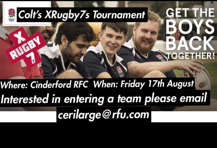 Colts 7's Tournament at Cinderford