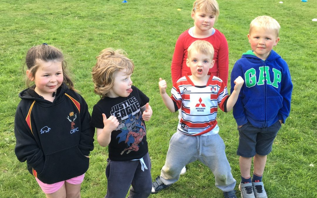 Under 5's training and fun sessions