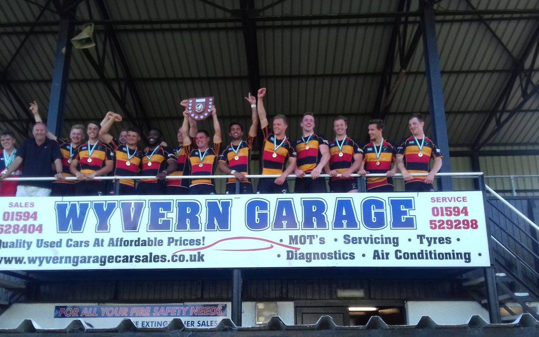 Cinderford United win FOD Severn's title