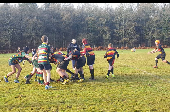 Cinderford u13s 35-10 Old Bristolians