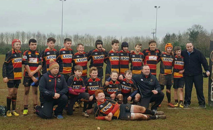 Cinderford u13s 33-0 Whitehead RFC