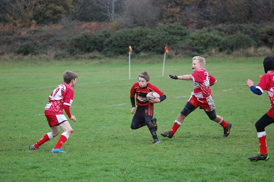 Cinderford Under 12's 47-14 Keynsham U12's